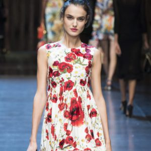 DOLCE AND GABBANA SPRING 2016 RUNWAY