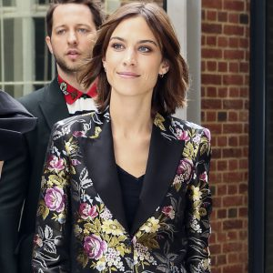 Alexa Chung Out and About in London