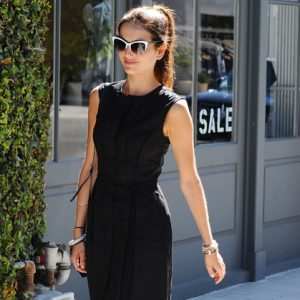 Camilla Belle Out and About in LA