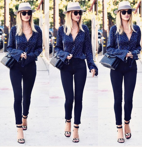 Embrace Breezy High-Waisted Denim Just Like The Stars This ...