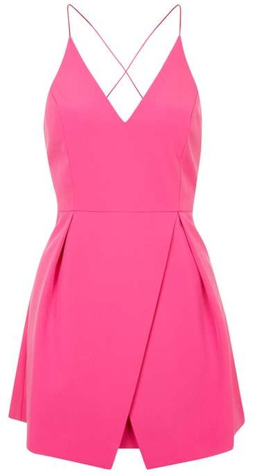 Copy Anna Kendrick S Bright Pink Dress From Quot Mike And Dave