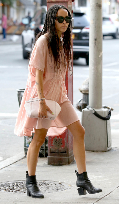 Zoe Kravitz Shopping in the West Village