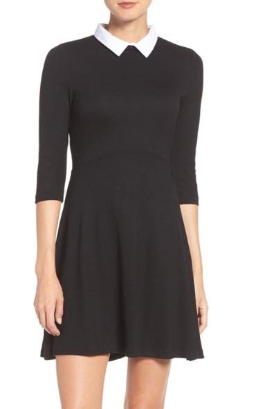 black-and-white-dress