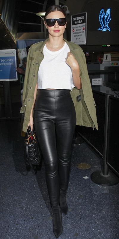 Miranda Kerr Sighted at LAX Airport on September 23, 2016