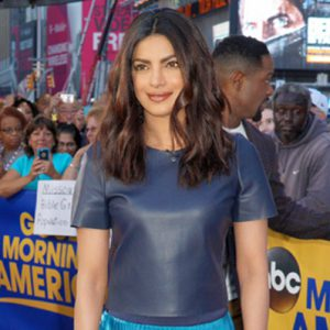 Priyanka Chopra and Blair Underwood Visit Good Morning America