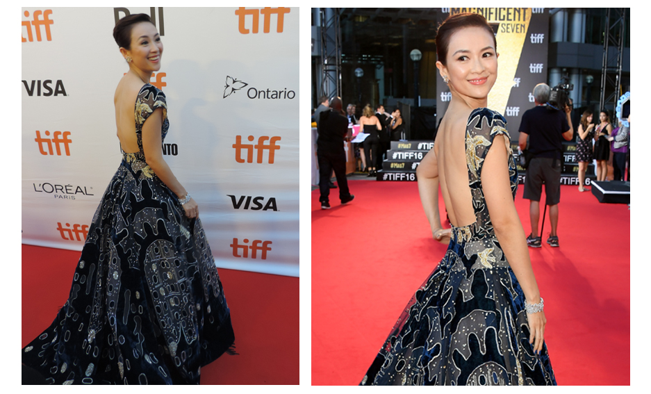 zhang ziyi red carpet 2017 - photo #16