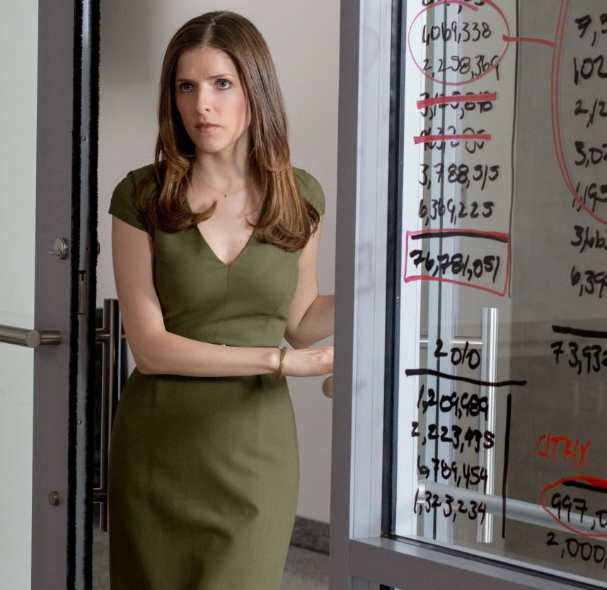 Steal Anna Kendrick S Classic Green Sheath Dress From Quot The