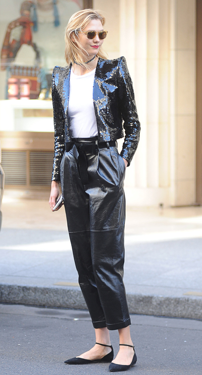 Karlie Kloss Spotted Out And About In Paris
