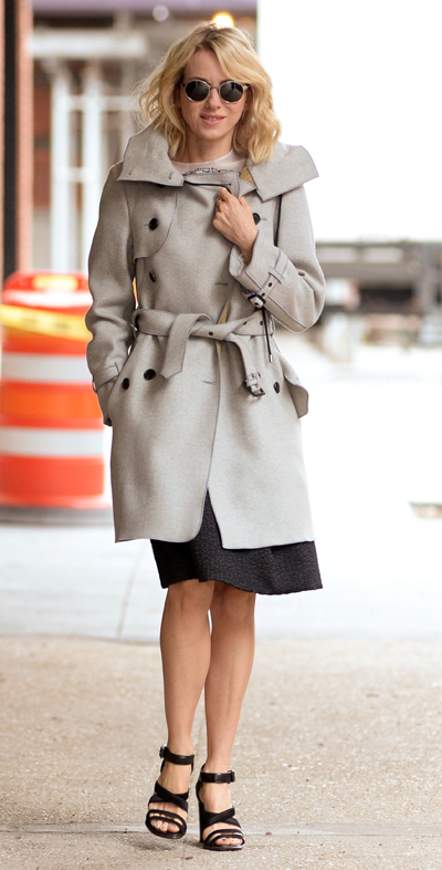 Naomi Watts All Smiles While Heading To 'Live With Kelly & Michael' Appearance