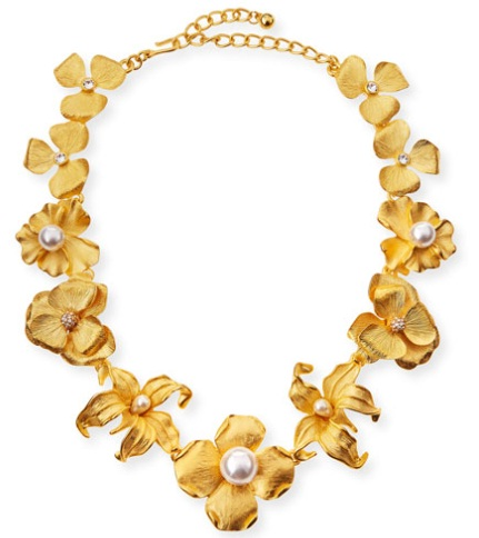 gold-floral-necklace