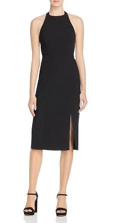 Get Jennifer Lawrence S Black Halter Dress From