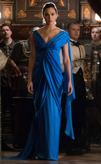 Steal Gal Gadot S Beautiful Blue Gown From Wonder Woman