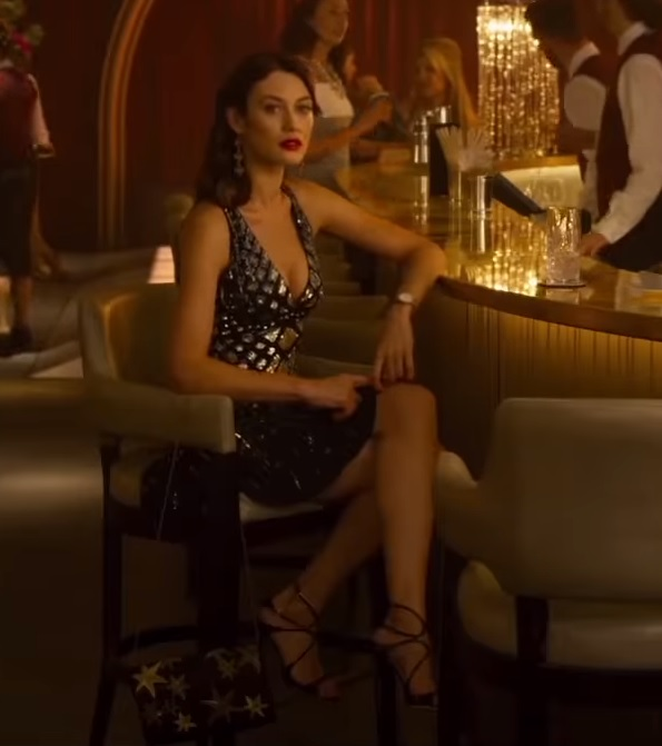 Steal Olga Kurylenkos Sexy Metallic Dress From Johnny English