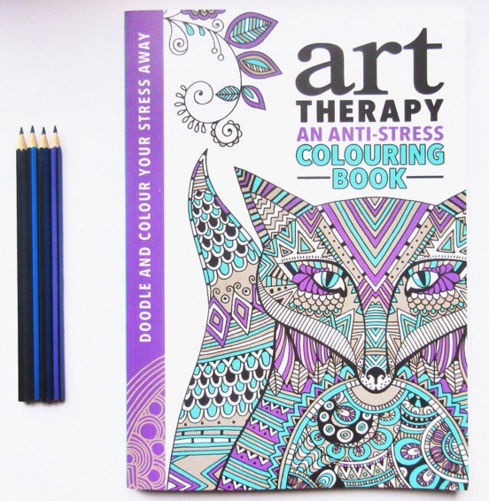 Adult Colouring Books Are A Cool New Trend