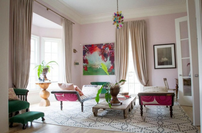 Get Winter 2016 S Pale Pink Home Décor Trend