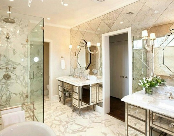 Elegant Powder Room Decor