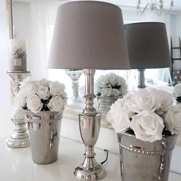 Stunning Silver Décor- The Latest Interior Design Trend  LIFESTYLE