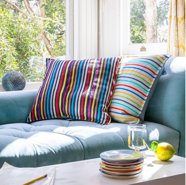 Funky Striped Décor How To Get The Look At Home