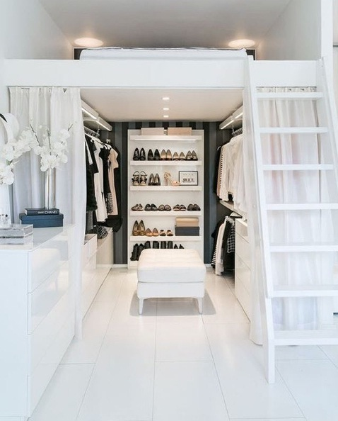 Easy walk in closet d cor ideas lifestyle for White walk in closet