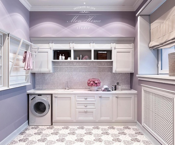 LILAC LAUNDRY ROOM