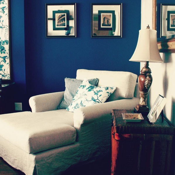 Infuse Your Space With Soulful Deep Blue Hues
