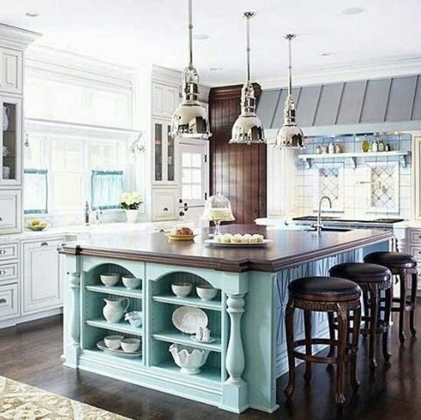 Island Kitchen Design Ideas: Gorgeous Kitchen Island Decorating Ideas For Fall 2016