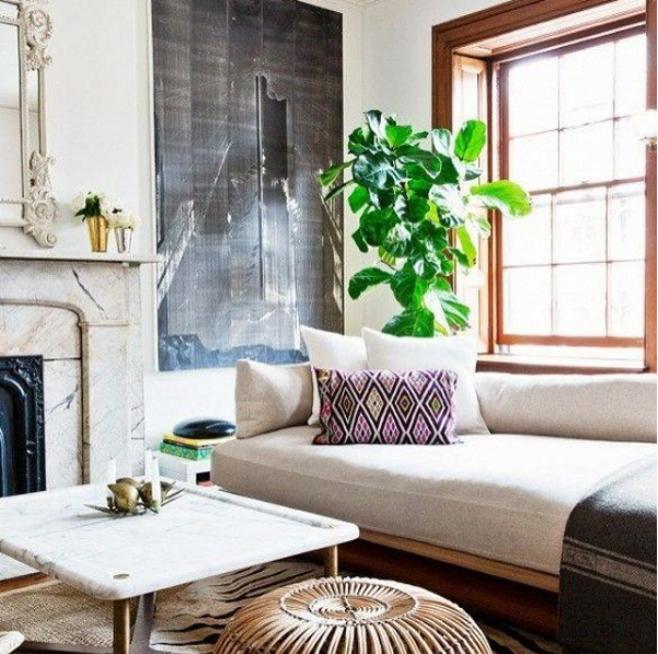 Captivating Meanwhile, Faded Hardwood Floors, Exposed Ceiling Beams And Freshly Painted  White Walls Help To Complete Your Space. Nice Look