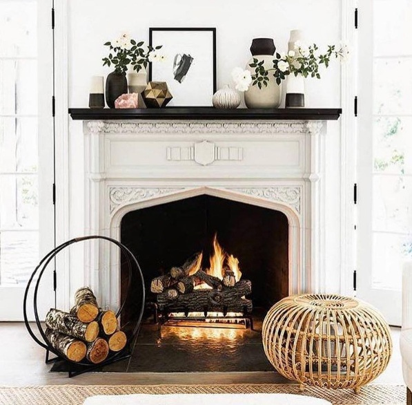 Luxurious Home Decor Ideas That Will Transform Your Living Space In A Second: Luxurious Fireplace Décor Ideas For A Cozy Home