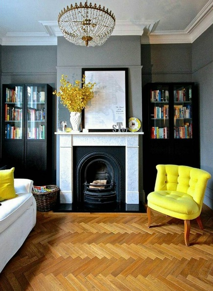 Classy ways to inject yellow into your interior design now for Interior design living room yellow