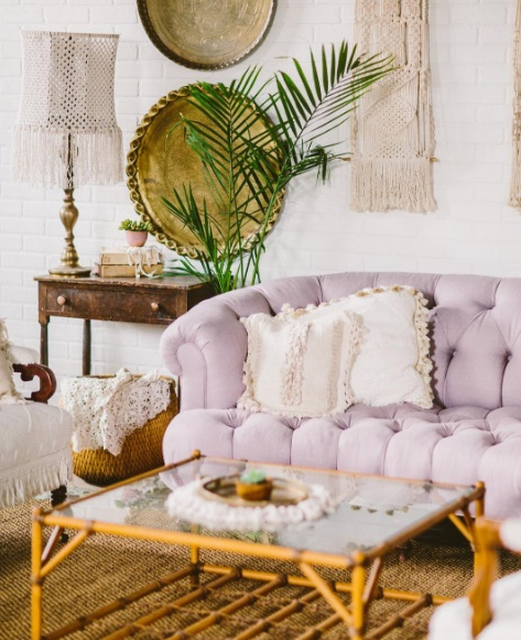 Fringe Home Decor Is The Latest In Boho Chic Design