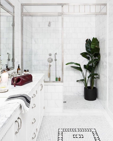 Towels Arranged In Wicker Baskets And Decorative Porcelain Vases Hanging Plants Can Instantly Bring The Great Outdoors Into Your Very Own Bathroom