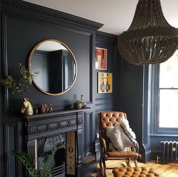 Matte Black Décor Is The Edgy New Trend In Interiors