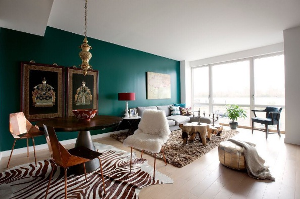. Dark Green Is The Latest Trend In Interior Design   LIFESTYLE