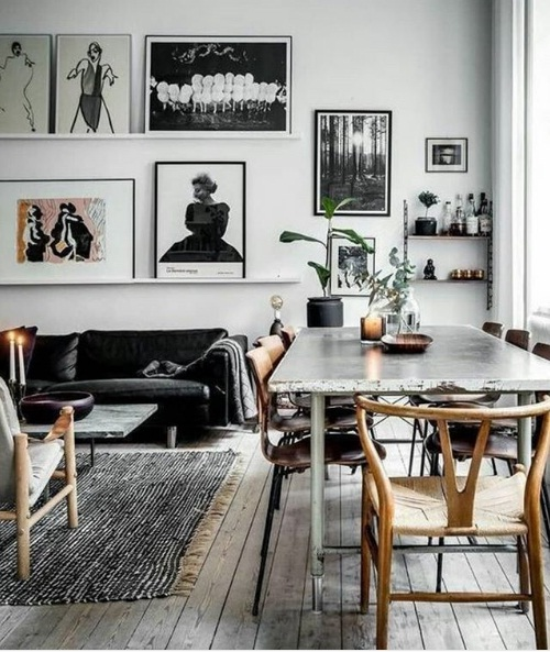 Top 10 Decorating Home Interiors 2018: Scandinavian Décor Is Set To Be A Major 2018 Design Trend
